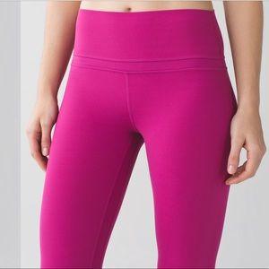 Lululemon Align 7/8 Pants Leggings Raspberry 2